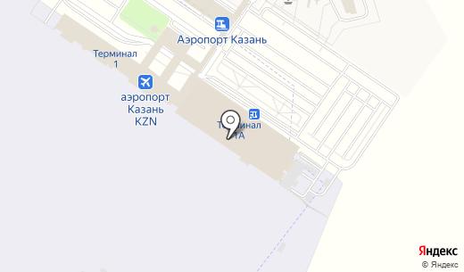 Авис. Схема проезда в Казани