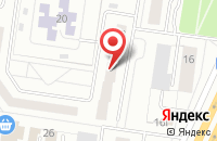 Схема проезда до компании Марка в Тольятти