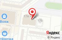 Схема проезда до компании Современная Академия Дизайна и Кинематографии в Тольятти