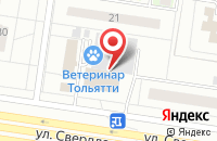 Схема проезда до компании Издательский Дом «Окнас» в Тольятти