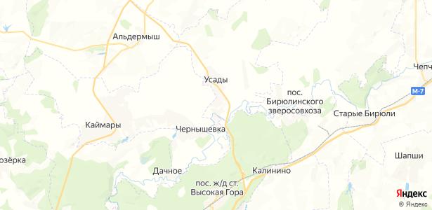 Тимофеевка на карте