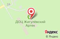 Схема проезда до компании Молодецкий курган в Жигулях