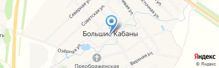 Лаишево на карте Больших Кабанов