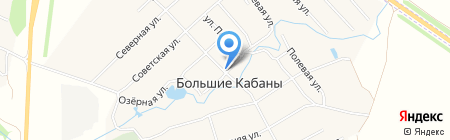 Киоск по продаже питьевой воды на карте Больших Кабанов
