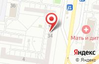 Схема проезда до компании Два в Тольятти