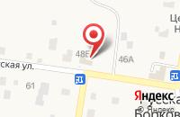 Схема проезда до компании БизнесСфера в Русской Борковке