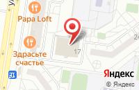 Схема проезда до компании Армия Ра в Тольятти