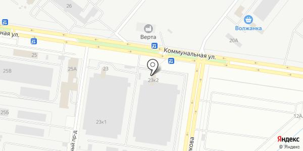 PRONTO. Схема проезда в Тольятти