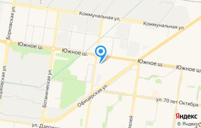 Местоположение на карте пункта техосмотра по адресу Самарская обл, г Тольятти, ш Южное, влд 97