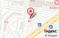 Схема проезда до компании Автосреда в Тольятти