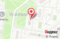 Схема проезда до компании Горожанка в Тольятти