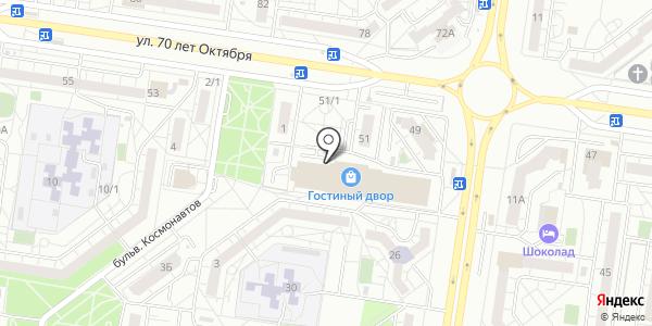 Гардероб. Схема проезда в Тольятти