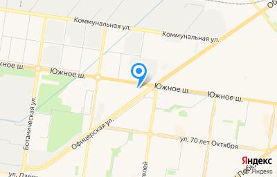 Местоположение на карте пункта техосмотра по адресу Самарская обл, г Тольятти, ш Южное, д 75