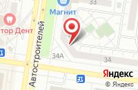 Схема проезда до компании Вектор Развития в Тольятти
