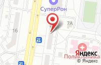 Схема проезда до компании Е95 в Тольятти