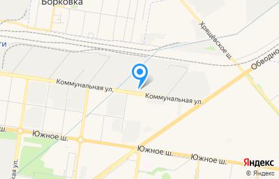 Местоположение на карте пункта техосмотра по адресу Самарская обл, г Тольятти, ул Коммунальная, влд 12