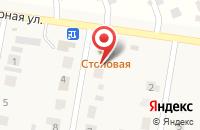 Схема проезда до компании Служба эвакуации и грузоперевозок в Русской Борковке