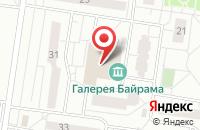 Схема проезда до компании Здравушка в Тольятти