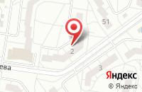 Схема проезда до компании Инфо-Дизайн в Тольятти
