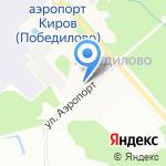 Аэробус на карте Кирова