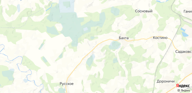 Балезинщина на карте