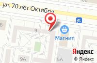 Схема проезда до компании Метролог в Тольятти
