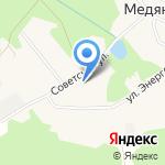 Медянская сельская библиотека на карте Кирова