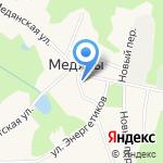 Юрьянское РАЙПО на карте Кирова