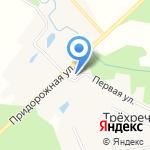 Церковь святых бессребреников Косьмы и Дамиана на карте Кирова