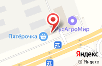 Схема проезда до компании Простор в Кощаково