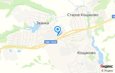 Местоположение на карте пункта техосмотра по адресу Респ Татарстан, Пестречинский р-н