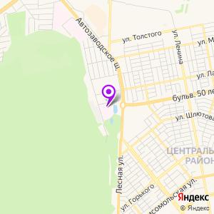 Тольяттинская детская больница №1 на карте