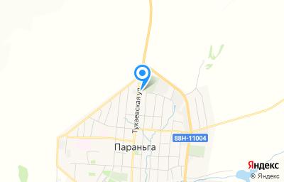 Местоположение на карте пункта техосмотра по адресу Респ Марий Эл, пгт Параньга, ул Тукаевская, д 1