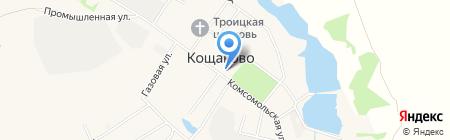Магазин хозяйственных товаров на карте Старого Кощаково