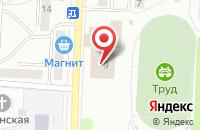 Схема проезда до компании Юбилейный в Жигулёвске