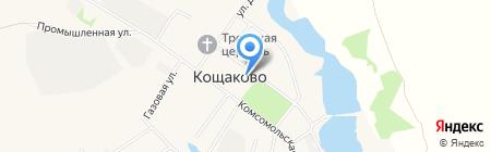Продуктовый магазин на Школьной на карте Старого Кощаково