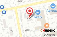 Схема проезда до компании Гермес в Тольятти