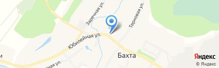Промтовары универсальный магазин на карте Бахты