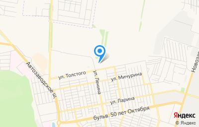 Местоположение на карте пункта техосмотра по адресу Самарская обл, г Тольятти, ул Толстого, д 34 стр 3