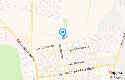 Местоположение на карте пункта техосмотра по адресу Самарская обл, г Тольятти, ул Толстого, д 34