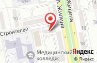 Схема проезда до компании Тарбут в Тольятти