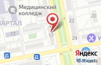 Схема проезда до компании Центр-Инфо в Тольятти