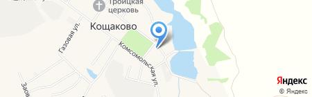 Кощаковская врачебная амбулатория на карте Старого Кощаково