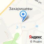 Аффтосервис в Захарищево на карте Кирова