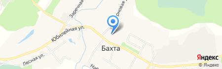 Основная общеобразовательная школа №68 на карте Бахты