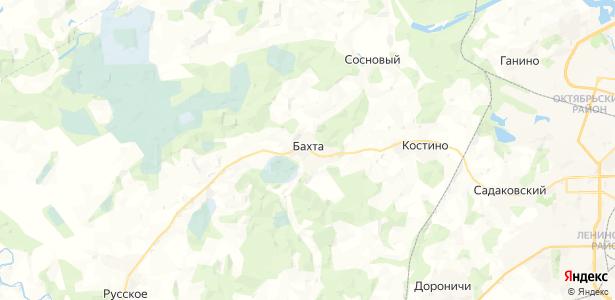 Бахта на карте