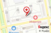 Схема проезда до компании Профориентир в Тольятти