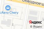 Схема проезда до компании Ариэс в Тимофеевке