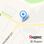 Лянгасовская эксплуатационная служба на карте Кирова