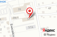 Схема проезда до компании Единые Рекламные Технологии в Тольятти